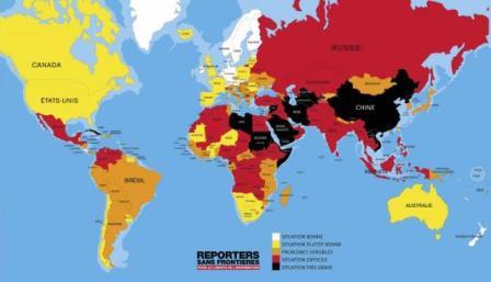 Classifica libertà stampa