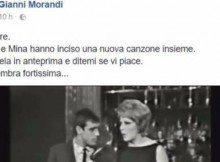 Gianni Morandi pubblica Amami amami