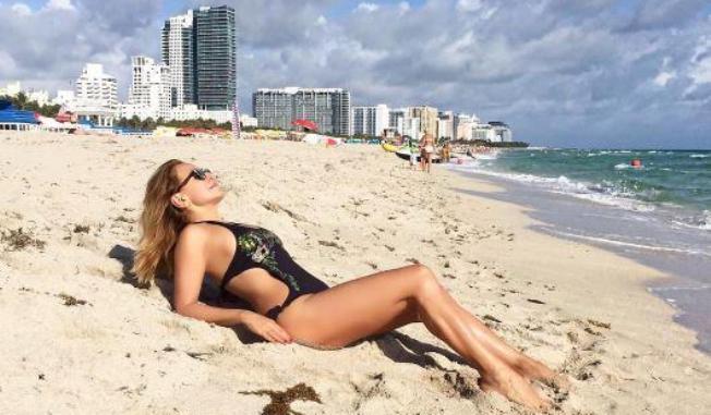 Barbara d'Urso, vacanze a Miami