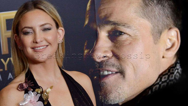 Brad Pitt, la nuova fiamma è Kate Hudson