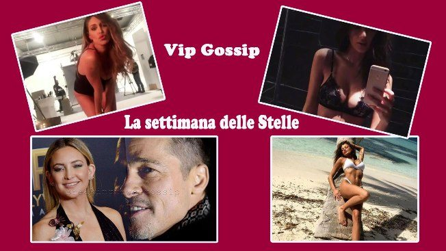 Vip gossip, Brad Pitt, Ambra e Emily Ratajkowski, le star della settimana