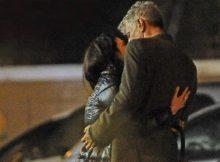 Asia Argento: baci e coccole con il nuovo fidanzato per le vie di Roma
