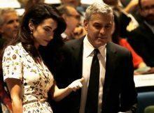 George Clooney, due gemelli in arrivo dalla moglie Amal