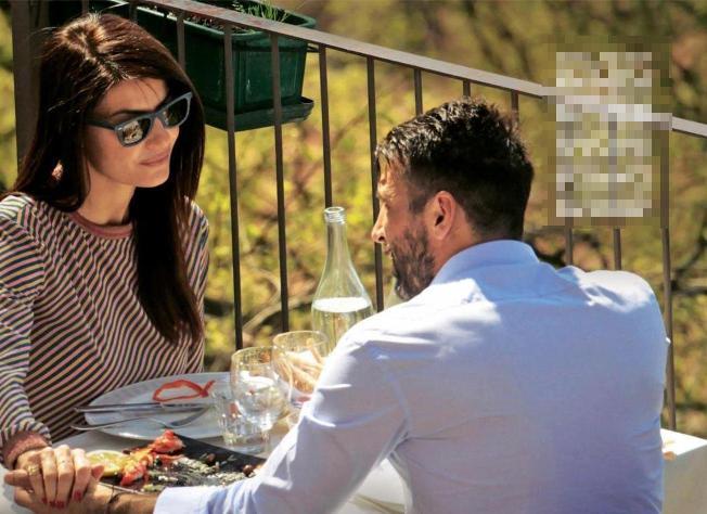 Ilaria D'Amico-Buffon, pranzo da innamorati