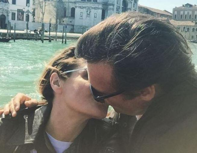Simona Ventura, compleanno d'amore a Venezia
