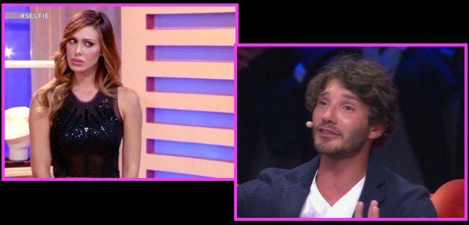 """Stefano De Martino, a """"Selfie"""" battutine con Belen"""