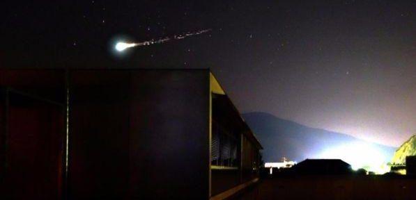 Meteorite a Milano e sui cieli di Lombardia, Emilia Romagna e Triveneto