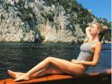 Alessia Marcuzzi, vacanze da vip tra Capri e Positano
