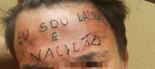 """Gli tatuano in faccia """"Sono un ladro e un furbastro"""", arrestati per tortura"""