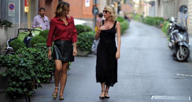 Alessia Marcuzzi, appuntamento con Grillo a Milano