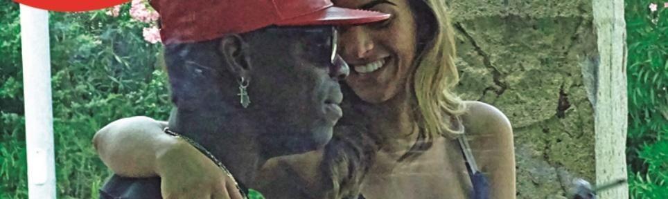 Mario Balotelli, giornata Serena con il nuovo amore