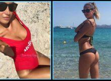 Melissa Satta: strepitosa in bikini ad un anno dalle nozze con Boateng