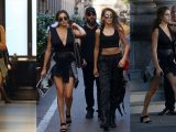 Stallone, Sophia e Sistine passeggiano come Vip a Milano