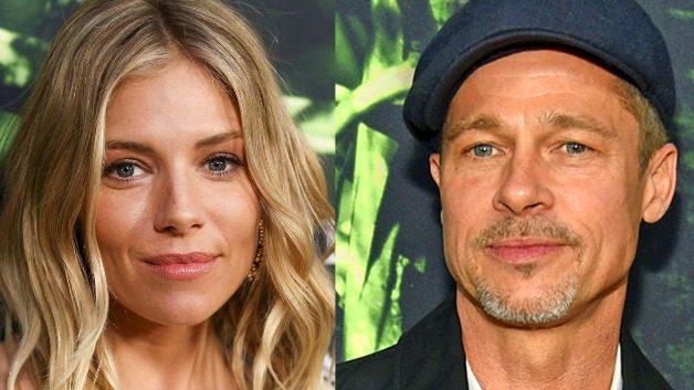 Brad Pitt: intimità con Sienna Miller, nuova coppia?