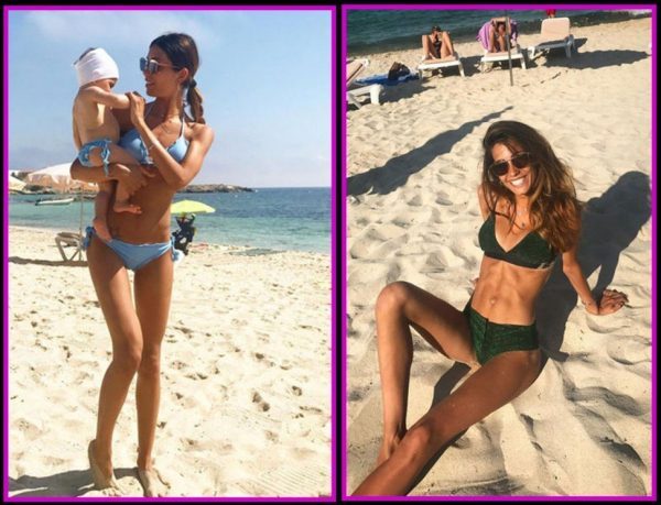 Federica Nargi, bellissima a Formentera con Sofia e Matri