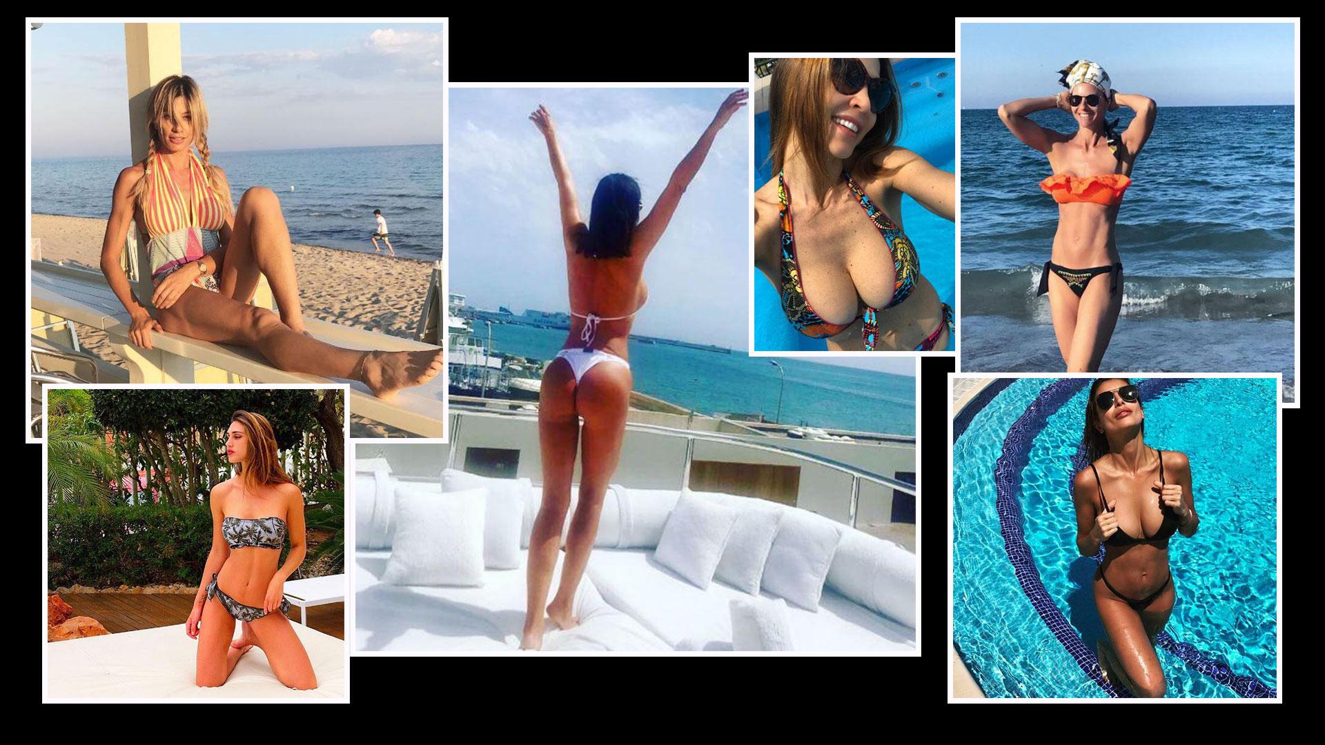 Mare, iniziata l'estate vip diCanalis, Corvaglia, Rodriguez, Tatangelo e compagnia bella