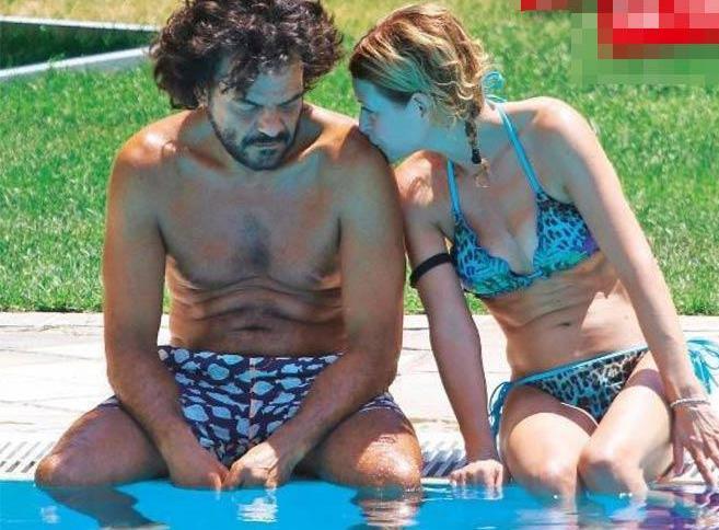 Francesco Renga, relax e amore con Diana